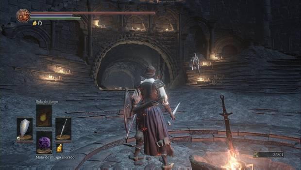 Dark Souls III - Torreón de Farron: Sirris vuelve a aparecer en el Santuario
