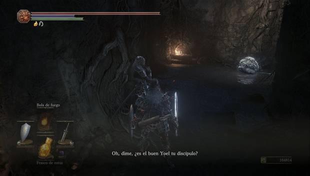 Dark Souls III - Torreón de Farron: Yuria de Londor, amiga de Yoel