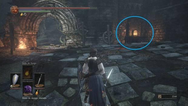 Dark Souls III - Torreón de Farron: primer horno para apagar en el Torreón de Farron