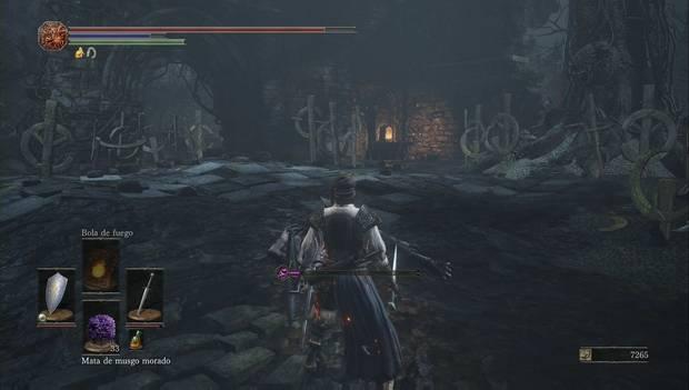 dark Souls III - Torreón de farron: segundo horno en el Torreón de Farron