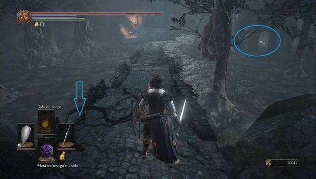 Dark Souls III - Torreón de Farron: torreón destruido cerca del patrón de Farron