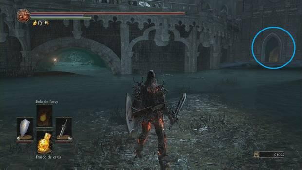 Dark Souls III - Irithyll del Valle Boreal: camino a la mazmorra de Irithyll