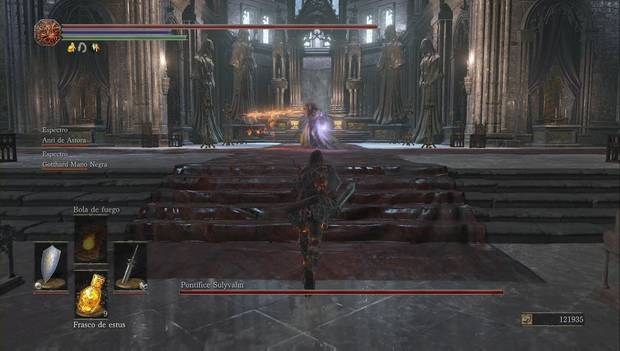 Dark Souls III - Irithyll del Valle Boreal: el Pontífice Sullyvahn