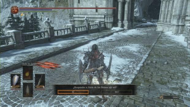 Dark Souls III - Irithyll del Valle Boreal: la señal de invocación de Sirris de los Reinos sin sol