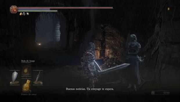 Dark Souls III - Irithyll del Valle Boreal: Yuria nos confirma que nuestro cónyuge nos espera