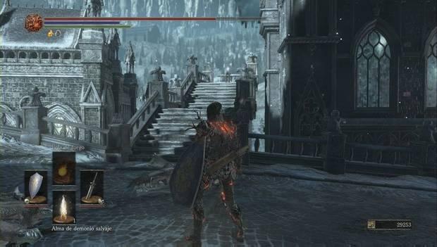 Dark Souls III - Irithyll del Valle Boreal: fragmento grande de titanita en la calle principal