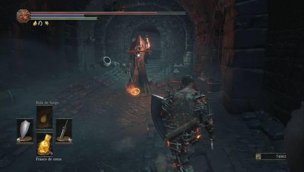 Dark souls III - Mazmorra de Irithyll: uno de los carceleros de la mazmorra