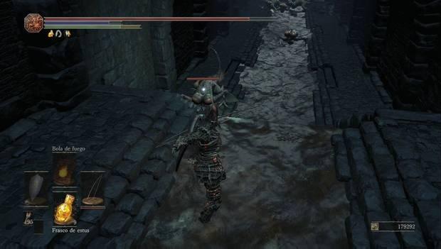 Dark souls III - Mazmorra de Irithyll: varios basiliscos nos atacan en las alcantarillas