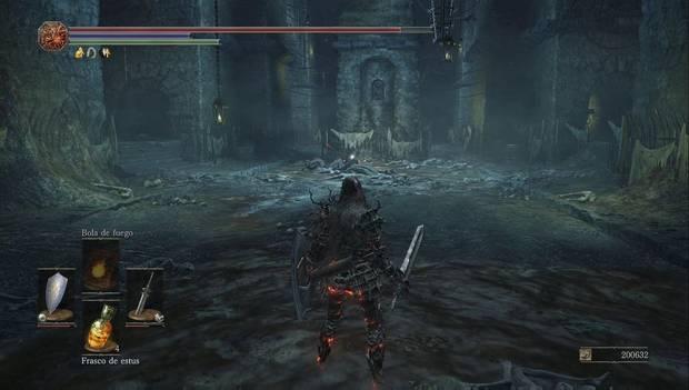 Dark souls III - Mazmorra de Irithyll: espacio lleno de carceleros muertos
