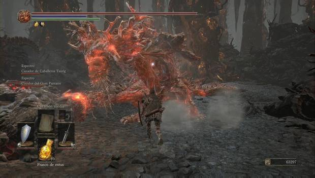 Dark Souls III - Lago ardiente: Viejo Rey Demonio