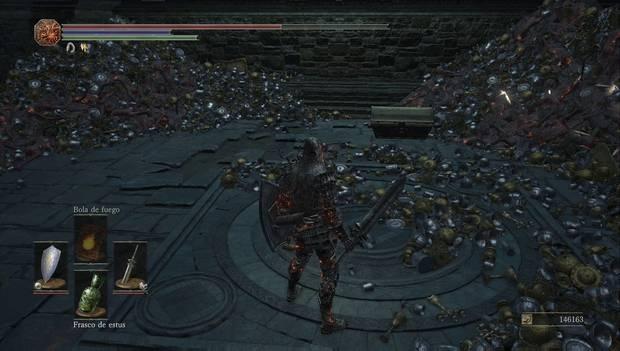 Dark souls III - capital profanada: cofres antes del jefe