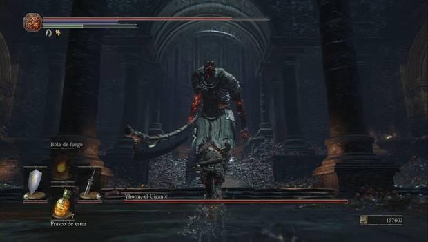 Dark Souls III - Capital Profanada: Yhorm el Gigante