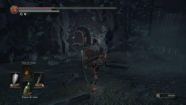 Dark Souls III - Capital Profanada: atajo a la hoguera inicial de la mazmorra