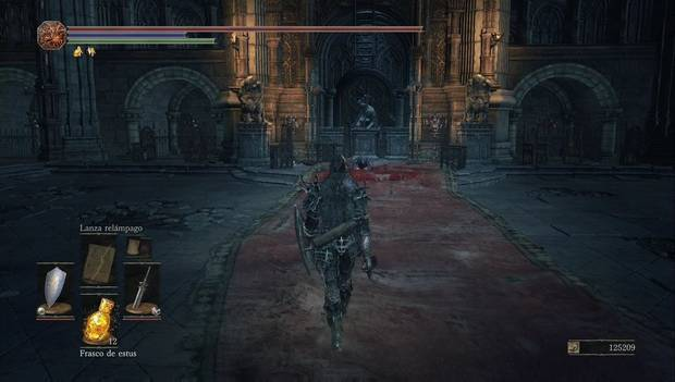 Dark Souls 3 - Gran Muro de Lothric: la anciana del gran muro
