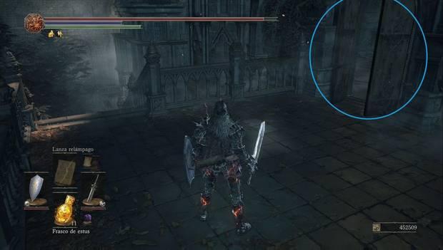 Dark Souls 3 - Jardín del Rey Consumido: atajo a la zona inicial del jardín del rey consumido abierto