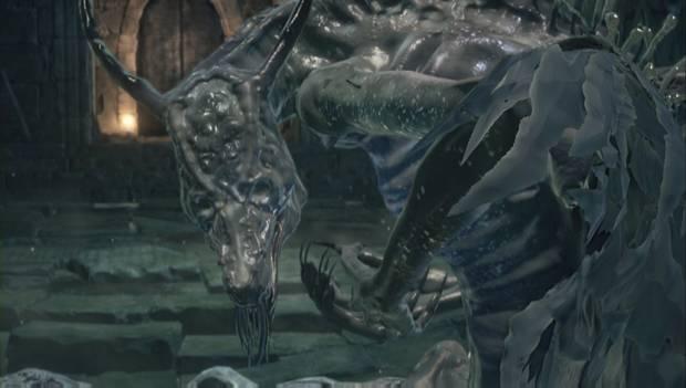 Dark Souls 3 - Jardín del Rey Consumido: Oceiros, el Rey Consumido