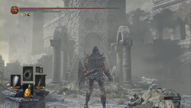 Dark Souls 3 - Pico del Archidragón: tore en la que se oculta Havel