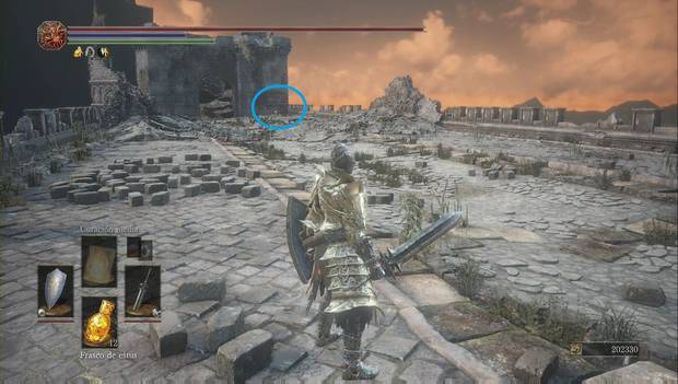 Dark Souls 3 - Pico del Archidragón: set de Havel en el camino de los sacrificios