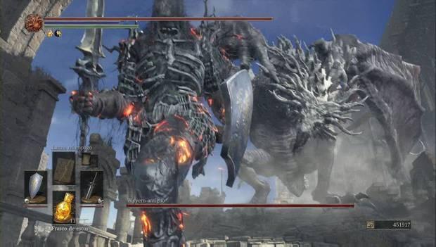 Dark Souls 3 - Pico del Archidragón: Wyvern Antiguo