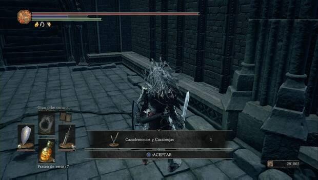 Dark Souls 3 - Gran Archivo: katanas dobles de Kamui de la Mano Negra