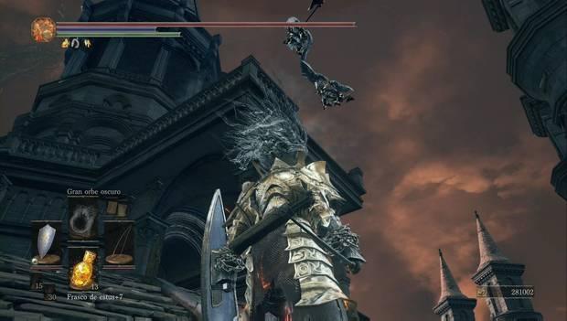 Dark Souls 3 - Gran Archivo: los ángeles saltan desde la torre