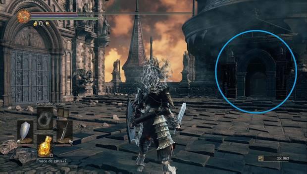 Dark Souls 3 - Gran Archivo: torreón junto a la habitación de Lothric