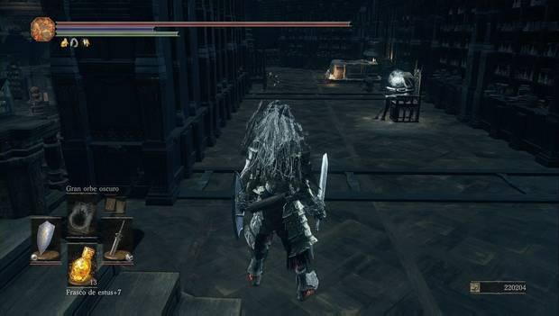 Dark Souls 3 - Gran Archivo: atajo a la piscina de cera y cadáver con el Anillo de erudito