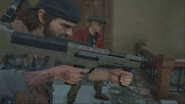 Days Gone - Deacon y su escopeta