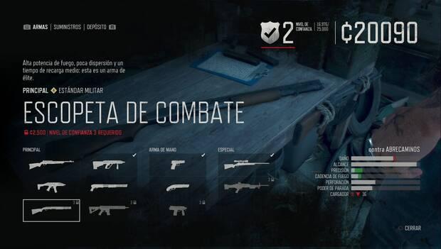 Days Gone - Escopeta de combate