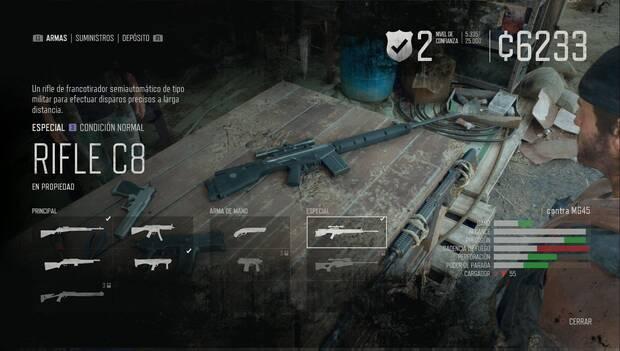 Days Gone - Rifle C8