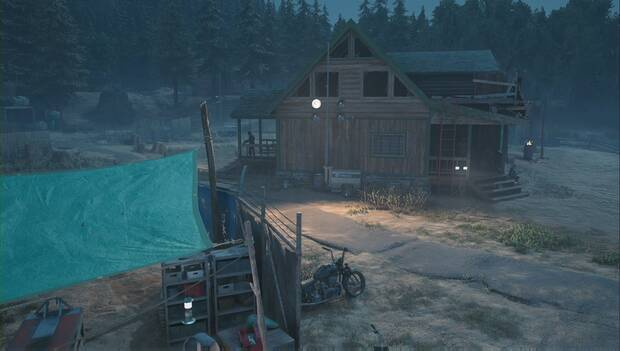 Days Gone - Campamento de Hot Springs