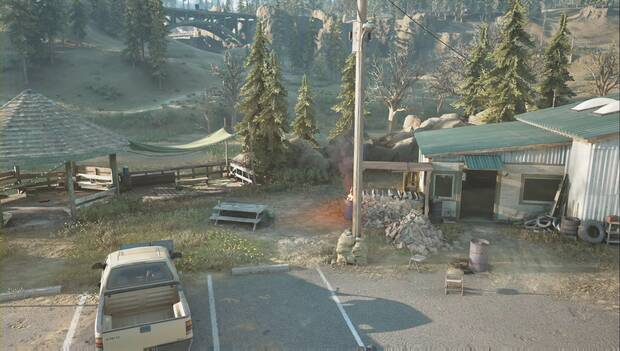 Days Gone - Campamento de Iron Mike