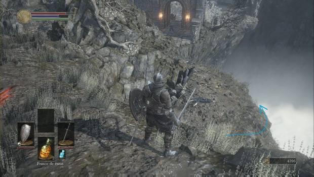 Dark Souls 3 - Cementerio de ceniza: camino a una bomba incendiaria