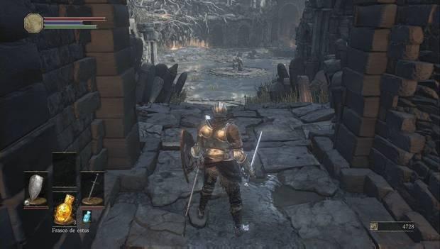 Dark Souls 3 - Cementerio de ceniza: plaza de Iudex Gundyr
