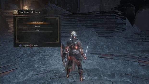 Dark Souls 3 - Cementerio de ceniza: la Guardiana del Fuego en el Santuario de Enlace del Fuego