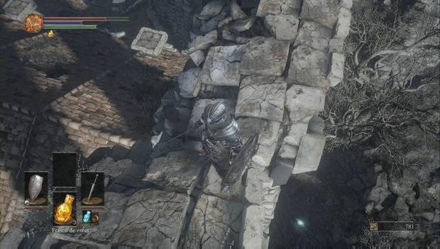 Dark Souls III - Gran Muro de Lothric: Tejado del Santuario de Enlace del Fuego