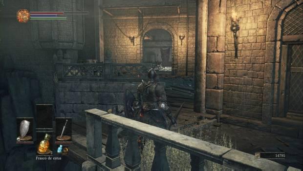 Dark Souls III - Gran Muro de Lothric: edificio por el que seguir explorando el Muro