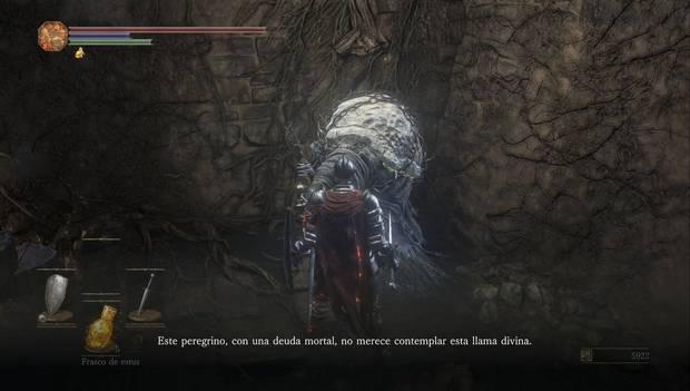 Dark Souls III - Asentamiento de no muertos: Yoel de Londor nos da la opción de aumentar nuestra fuerza