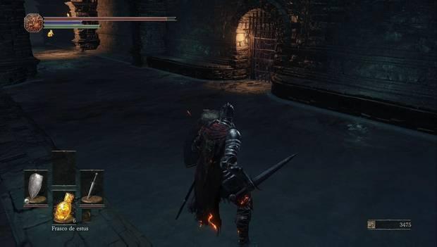 Dark Souls III - Asentamiento de no muertos: Puerta cerrada en las alcantarillas