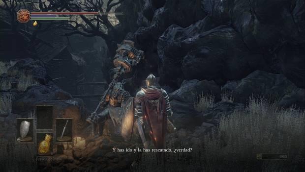 Dark Souls III - Asentamiento de no muertos: Eygon de Carim asegura que nos ayudará en nuestra misión