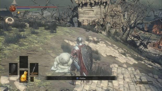 Dark Souls III - Asentamiento de no muertos: Siegward se ha quedado dormido