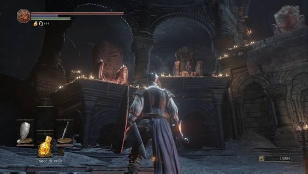 Dark Souls III - Asentamiento de no muertos: Ludleth en el Santuario de Enlace del fuego