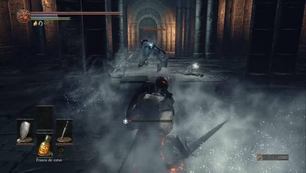 Dark Souls III - Asentamiento de no muertos: uno de los caballeros de Irithyll