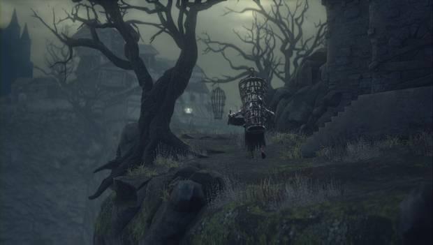 Dark Souls III - Asentamiento de no muertos: el enemigo de la jaula nos lleva a un lugar especial