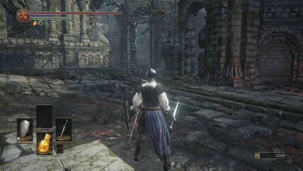 Dark Souls III - Camino de los Sacrificios: camino hacia la Catedral de la Oscuridad