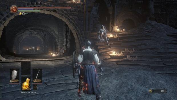 Dark Souls III - Camino de los Sacrificios: Sirris ha aparecido en el Santuario de Enlace del Fuego