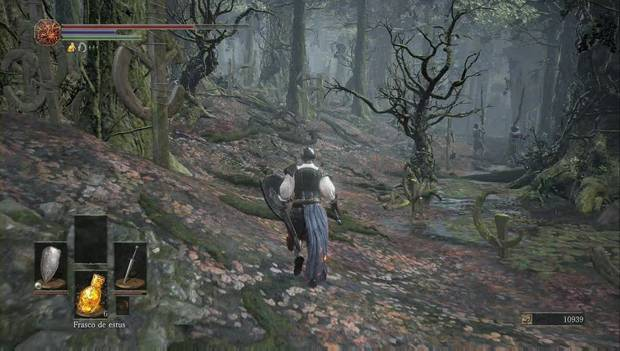 Dark Souls III - Camino de los sacrificios: orilla izquierda del pantano