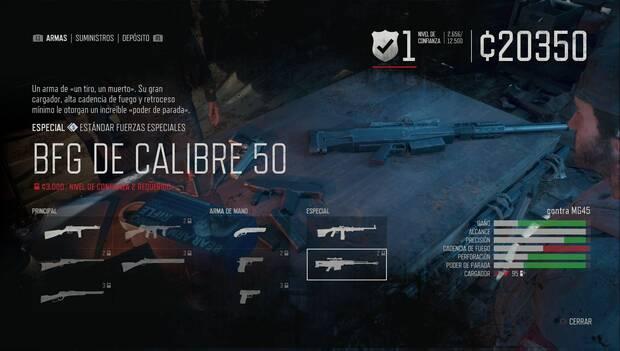 Days Gone - BFG de calibre 50
