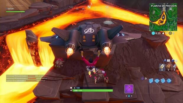 Fortnite Battle Royale - Fortbytes: Fortbite #92 en la isla de lava