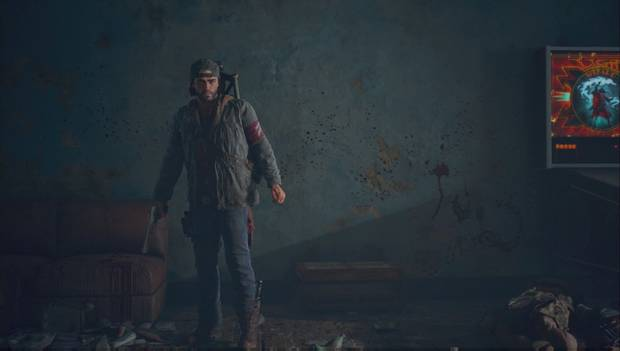 Days Gone - Deacon sostiene un arma
